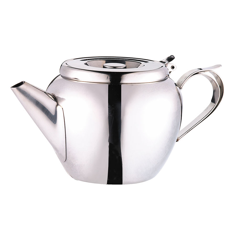 Browne 515153 32-oz Stackable Teapot - 18/8 Stainless Steel