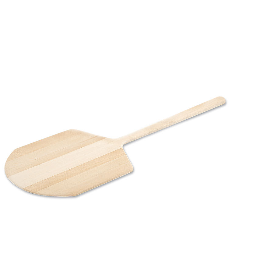 "Browne 5217 Wooden Pizza Peel, 14 x 16 in, 36"" Over All Length"