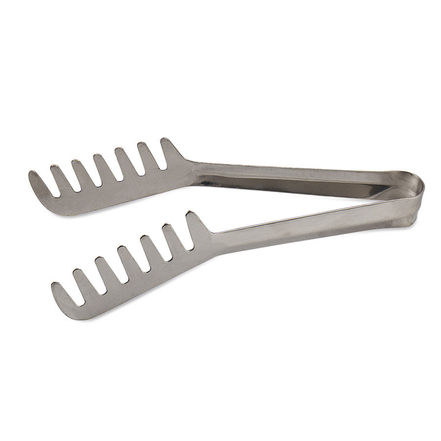 Browne 57533 Spaghetti Tongs, 7-1/2 in, Spring Steel With Blunted Tip