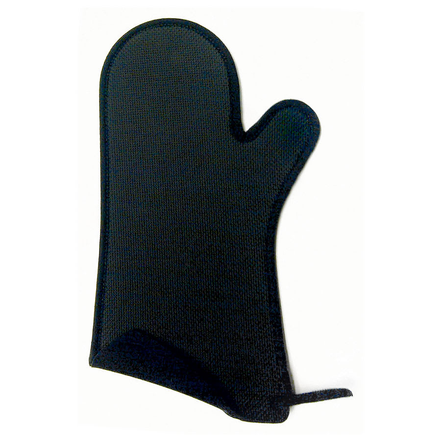 Browne 5432202 Safety Oven Mitt w/ Non-Slip Grip, Dishwasher Safe, Black, 10.75 L x 6.5 W