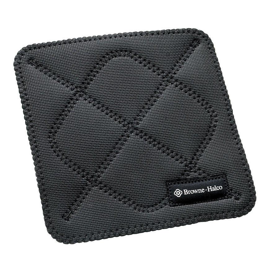Browne 5436502 Duncan KitchenGrips Hot Pad, 10 x 10 in, Black