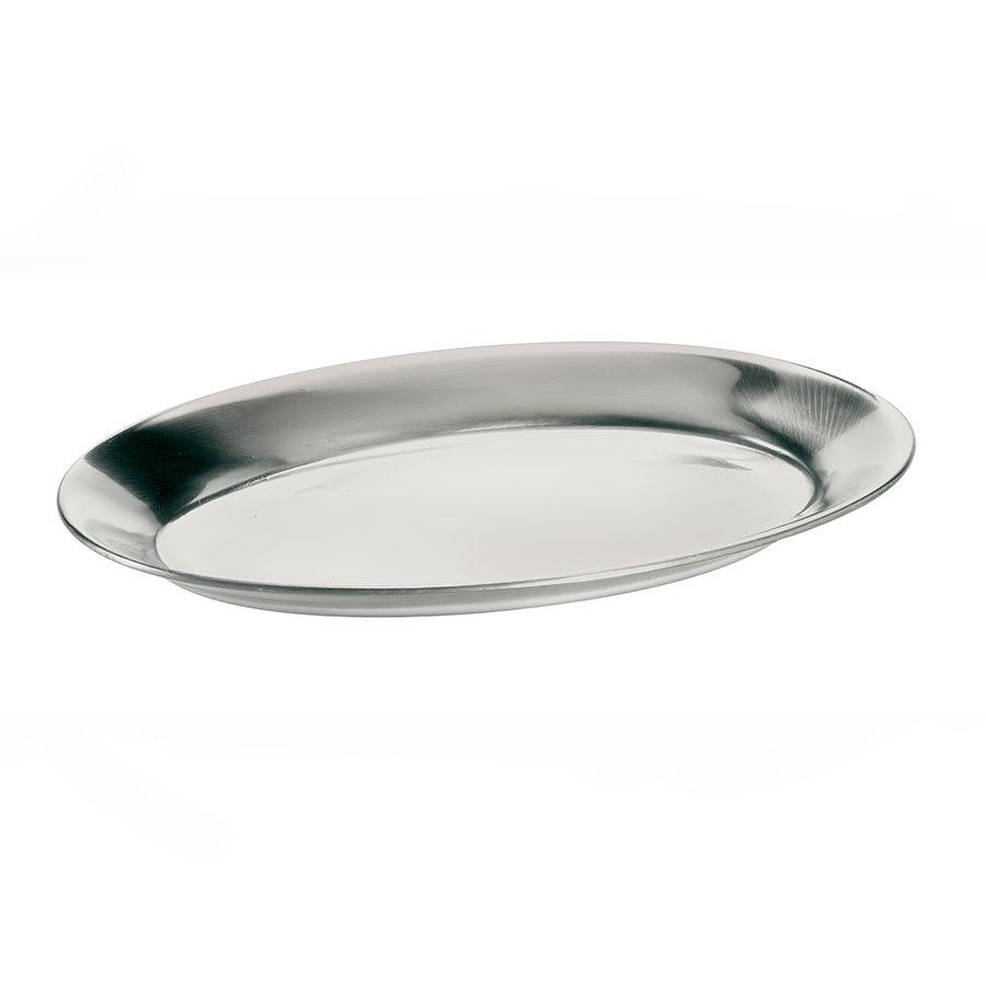 Browne 5811561 Steak Platter, Aluminum, 7 x 10 1/2 in, Mirror Finish