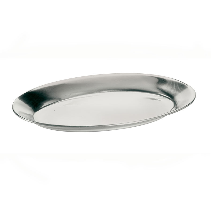 Browne 5811562 Steak Platter, Aluminum, 8 x 11-1/2 in, Mirror Finish