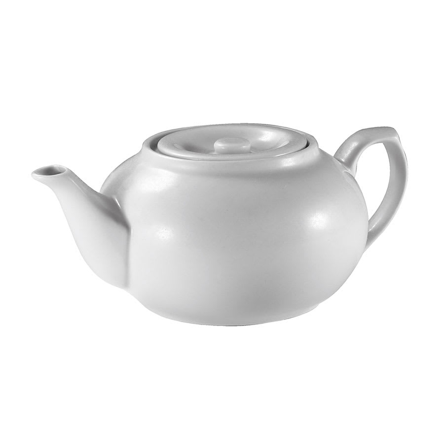 Browne 563933 16-oz Teapot - Porcelain, White