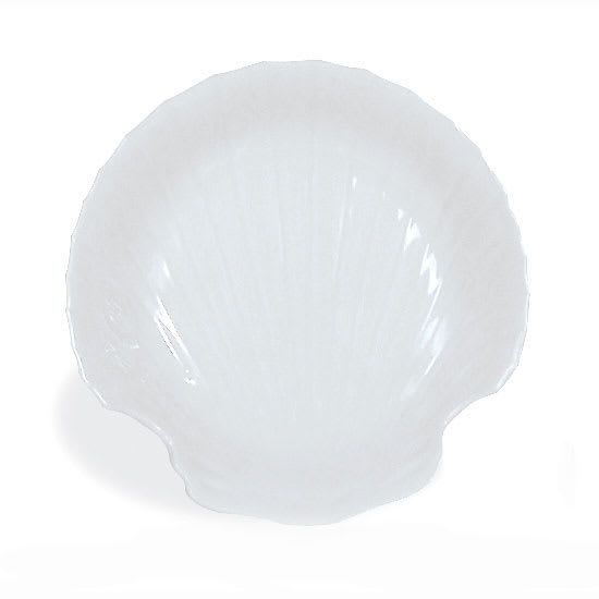 Browne 564008 Baking Shell, 6 in, Porcelain White