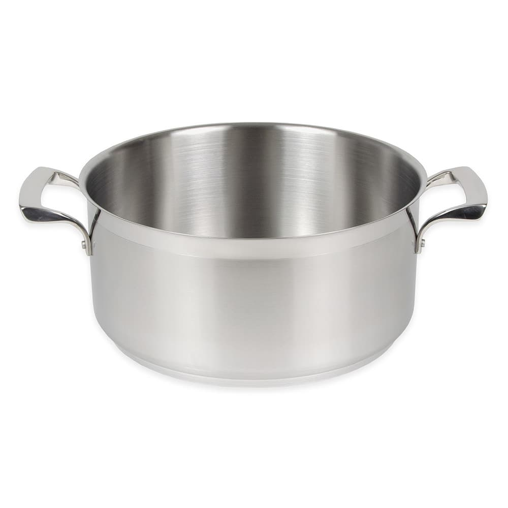 Browne 5724014 15 qt Stainless Steel Braising Pot