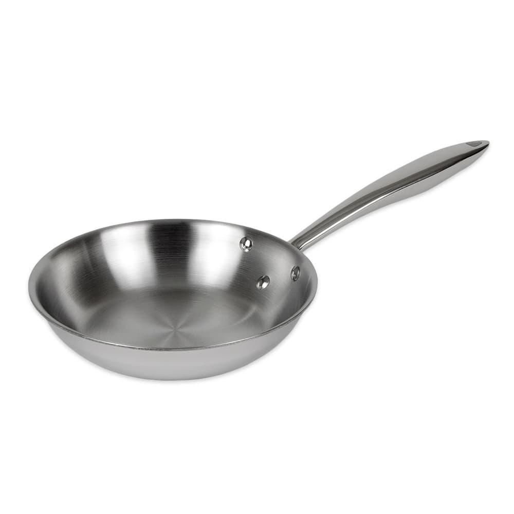 """Browne 5724092 8"""" Stainless Steel Frying Pan w/ Hollow Metal Handle"""