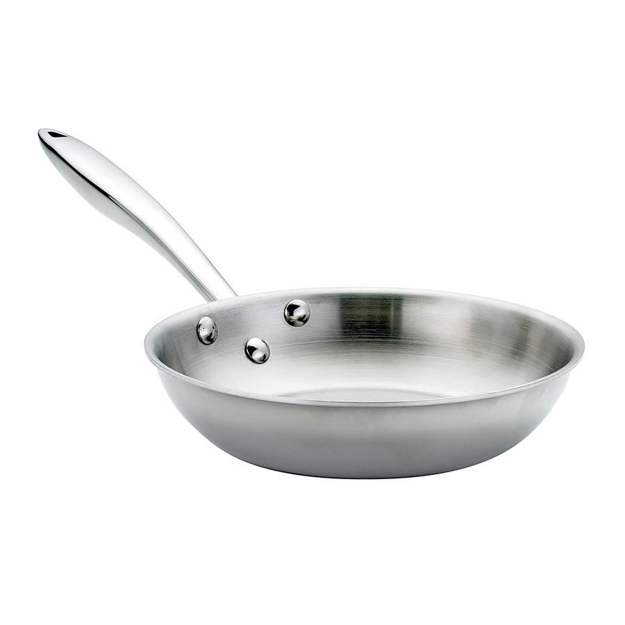 """Browne 57 24093 9.5"""" Stainless Steel Frying Pan w/ Hollow Metal Handle"""