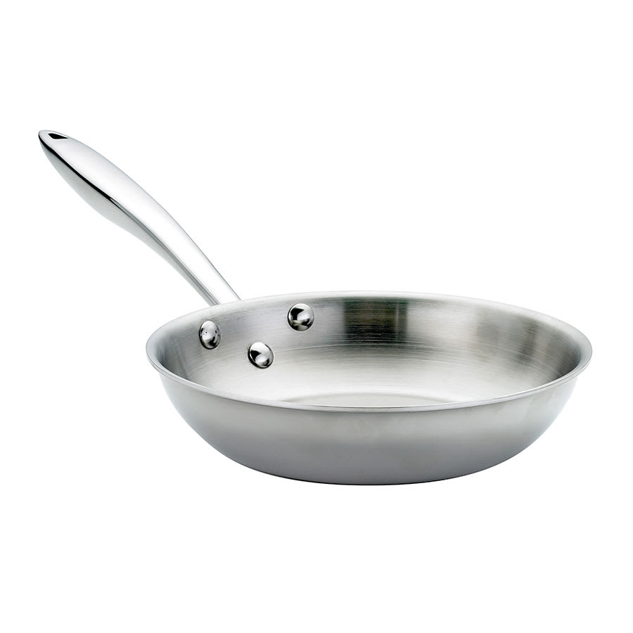 "Browne 57 24094 11"" Stainless Steel Frying Pan w/ Hollow Metal Handle"