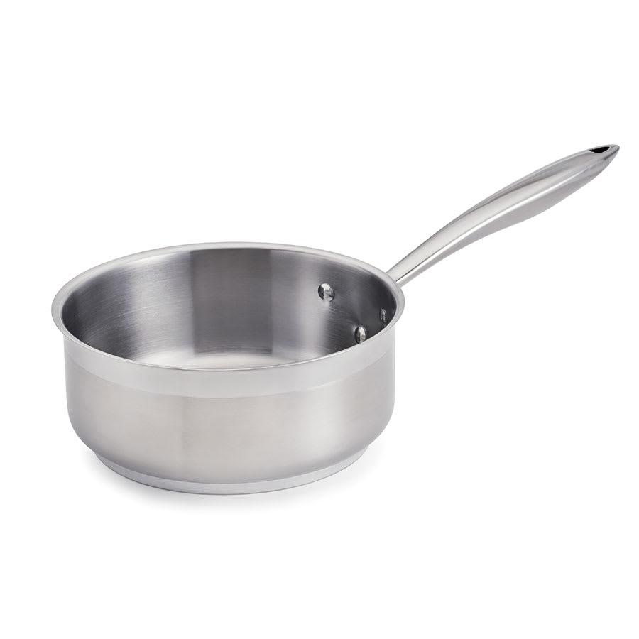 Browne 5724161 1.5 qt Stainless Steel Saucepan w/ Hollow Metal Handle