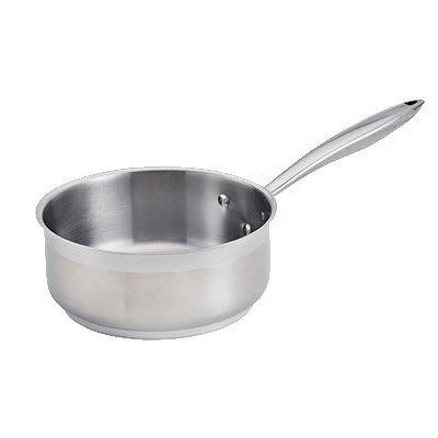 Browne 5724162 2.5-qt Stainless Steel Saucepan w/ Hollow Metal Handle