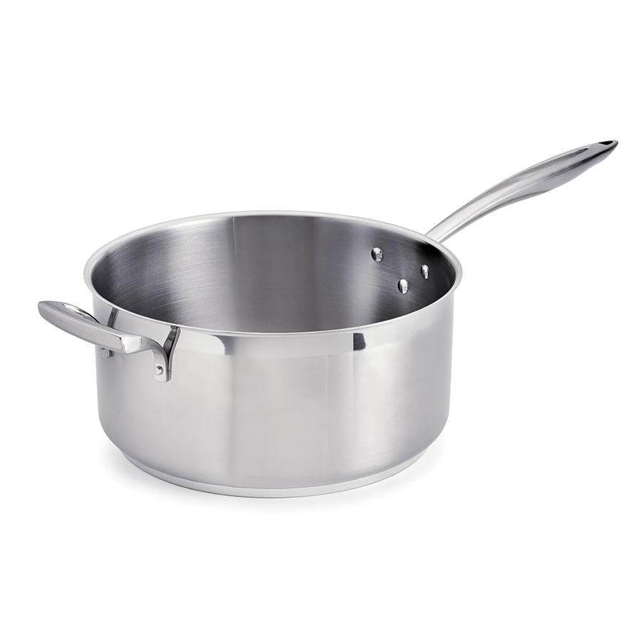 Browne 5724166 8-qt Stainless Steel Saucepan w/ Hollow Metal Handle