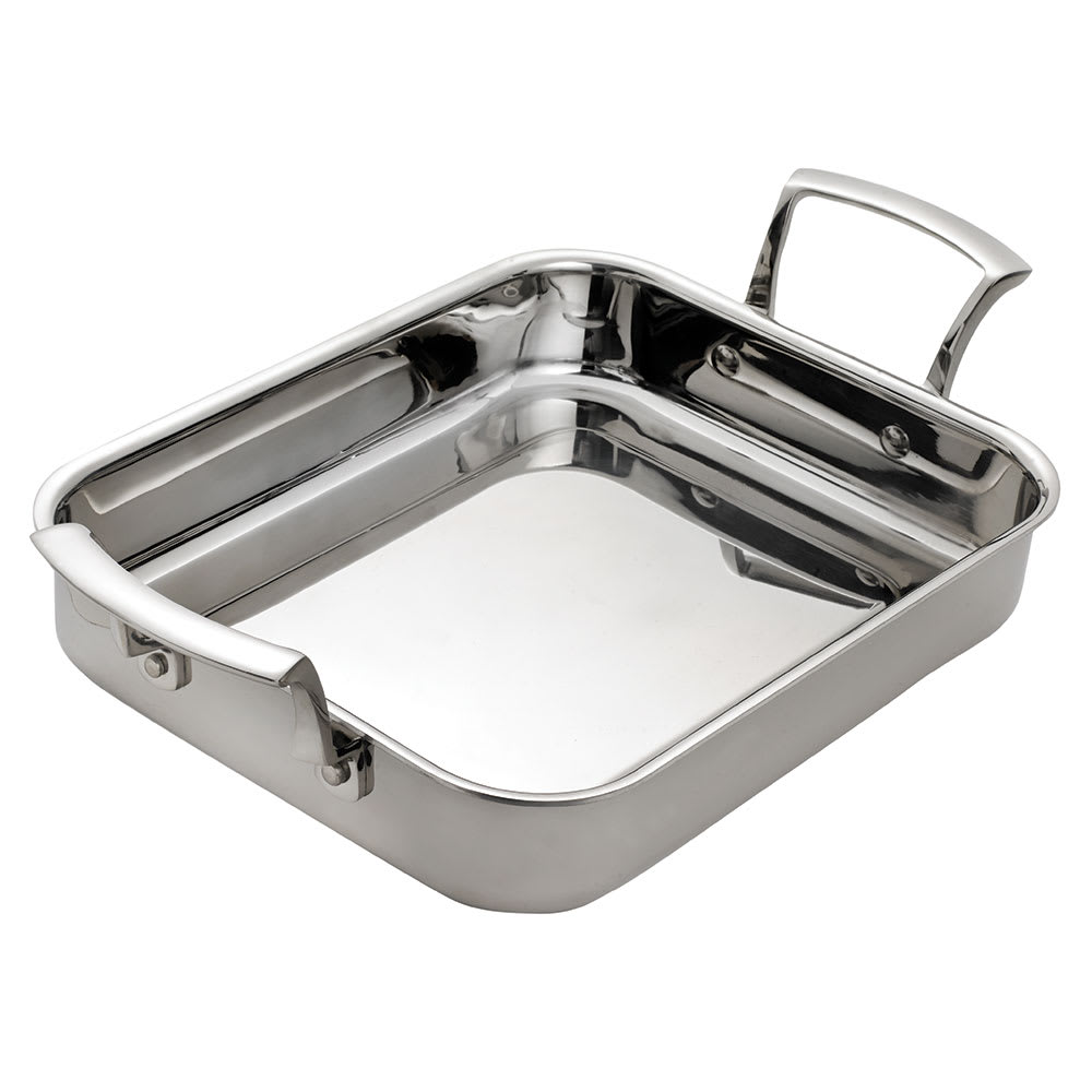 "Browne 5724175 Thermalloy® Roast Pan - 11"" x 8.7"", Stainless"