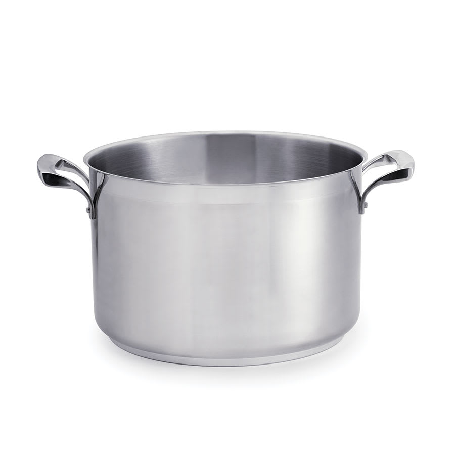 Browne 5724186 7 qt Sauce Pot - Induction Compatible, Stainless