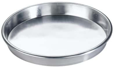 Browne 57 30070 10 in Deep Dish Pizza Pan, Straight Sides, Aluminum, Natural Finish