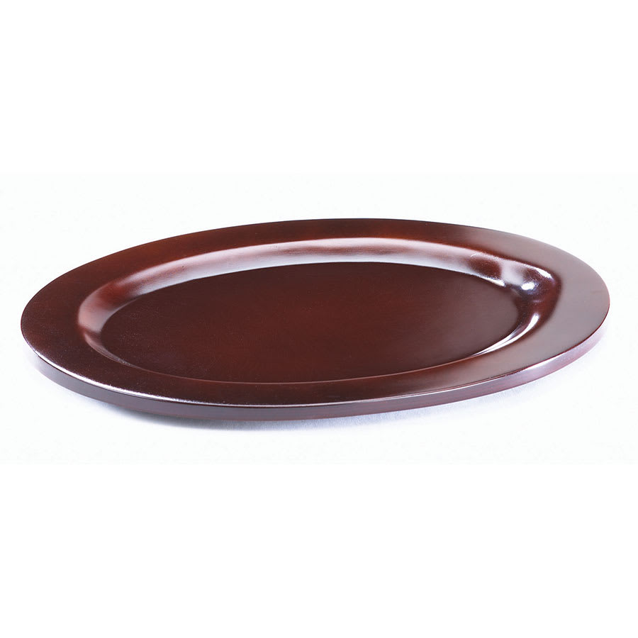 "Browne 573706 Wood Underliner for 10"" Oval Skillet"