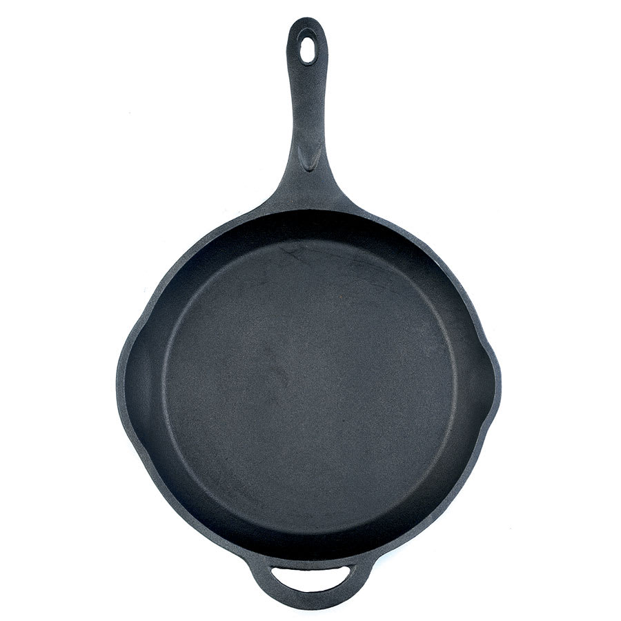 Browne 573710 Thermalloy Cast Iron Fry Pan, 10 x 2 in
