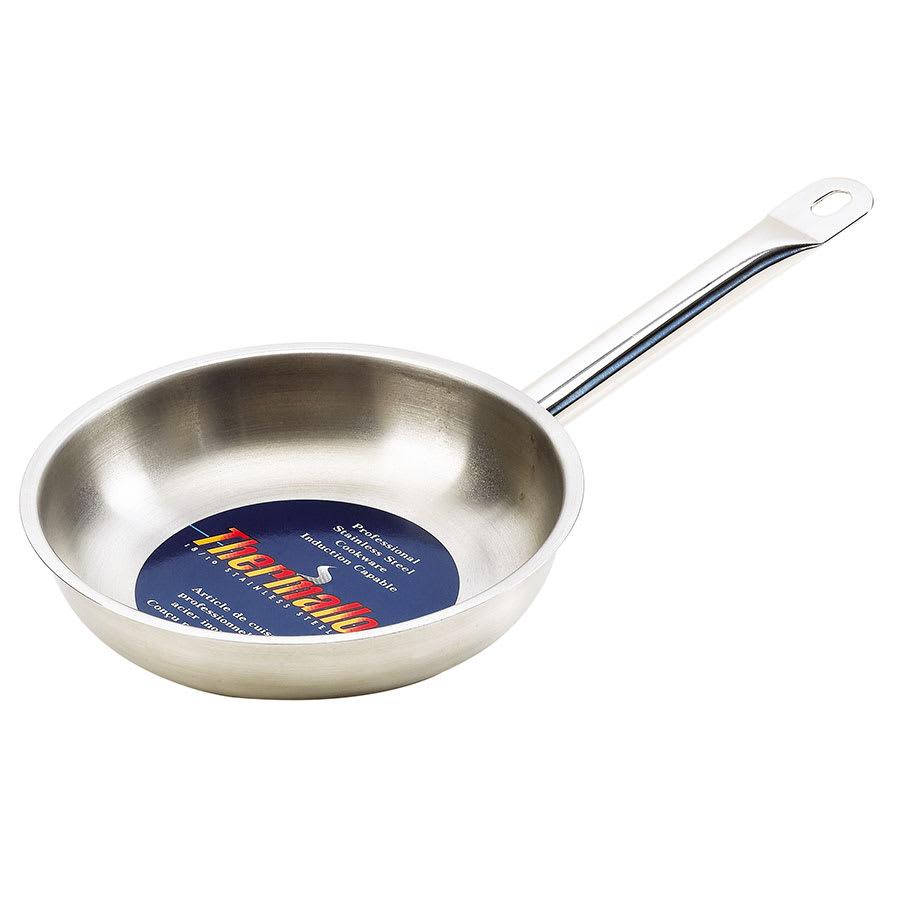 """Browne 573771 9.5"""" Stainless Steel Frying Pan w/ Hollow Metal Handle"""