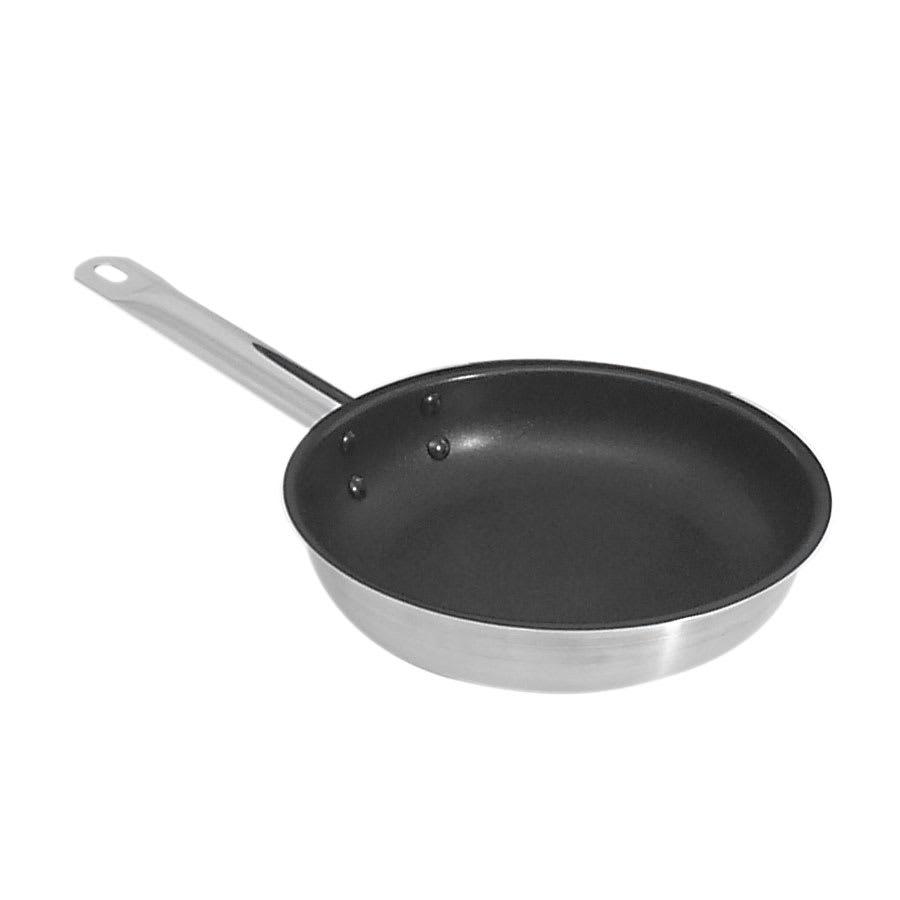 "Browne 573778 12.5"" Non-Stick Steel Frying Pan w/ Hollow Metal Handle"