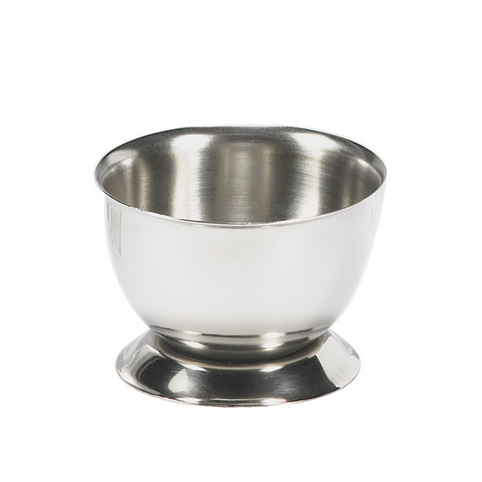 Browne 575063 Egg Cup,  1 x 2 in, Stainless Steel, Mirror Finish
