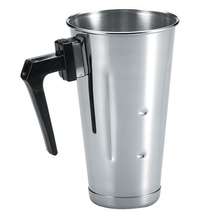 Browne 57512 Malt Cup, 32 oz, with Handle, Stainless Steel
