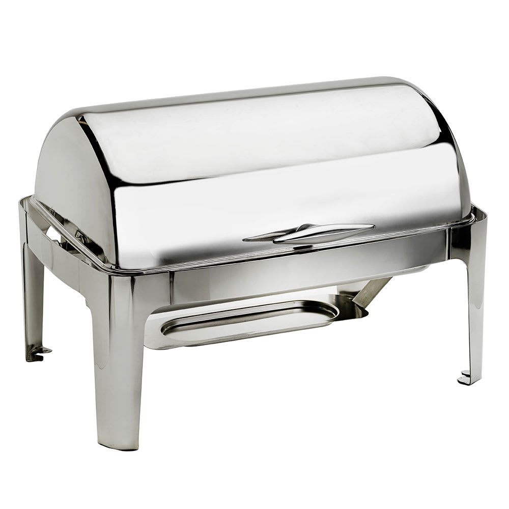 Browne 575137 Full Size Chafer w/ Roll-Top Lid & Chafing Fuel Heat