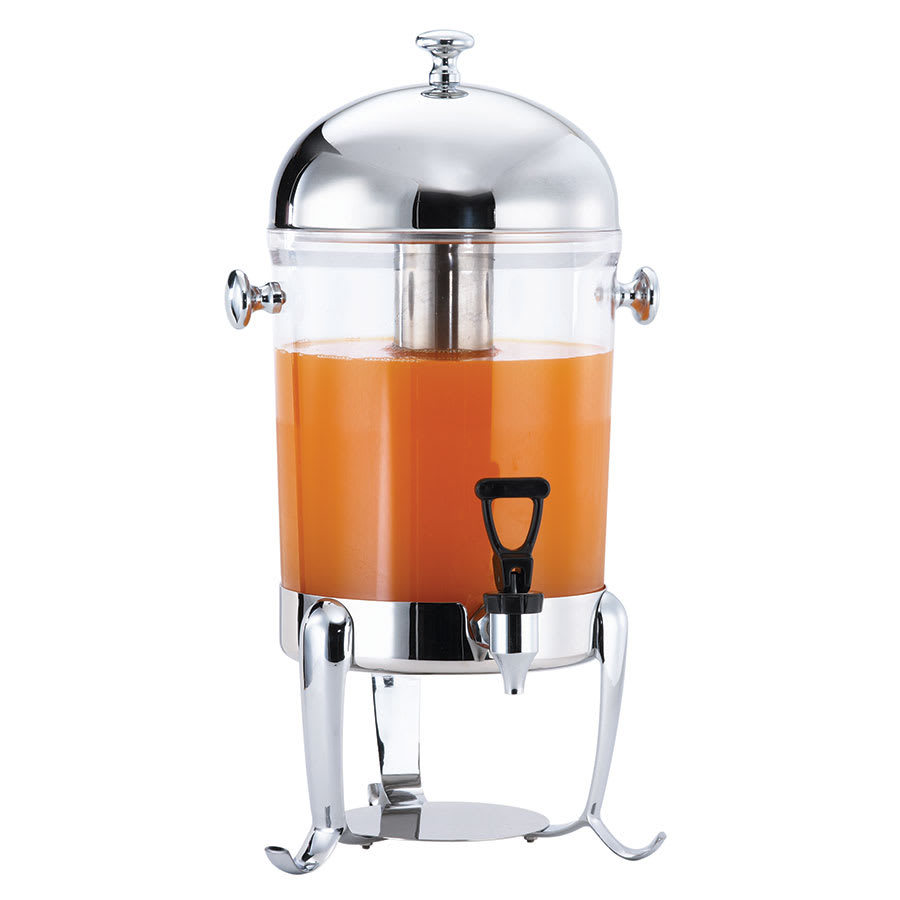 Browne 575174 Octave 7 qt Juice Dispenser, Poly w/ Stainless Top, (45) 5 oz Servings
