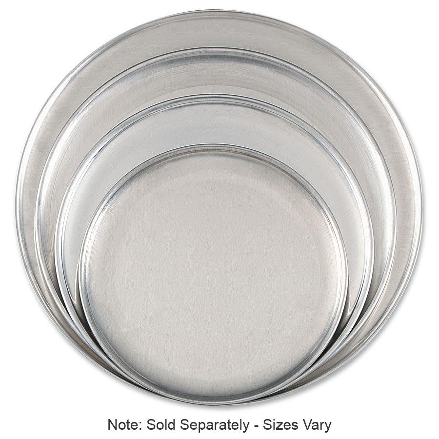 """Browne 575307 Aluminum Pizza Plates, 7"""" Diameter, Solid, 1.0 Gauge"""