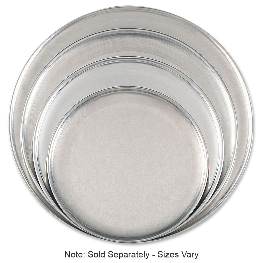 "Browne 575310 Aluminum Pizza Plate, 10"" Diameter, Solid, 1.0 mm Gauge"