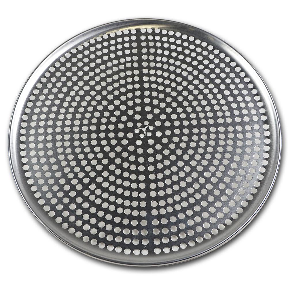"""Browne 575355 Perforated Pizza Plate, 15"""" Diameter, 1.0 mm Gauge Aluminum"""