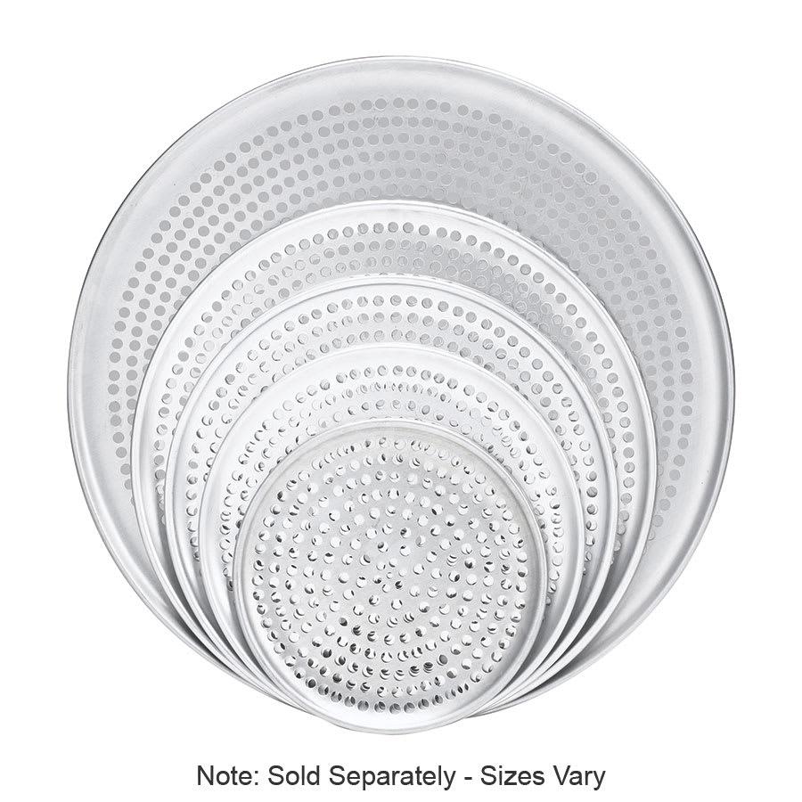 """Browne 575356 Perforated Pizza Plate, 16"""" Diameter, 1.0 mm Gauge Aluminum"""