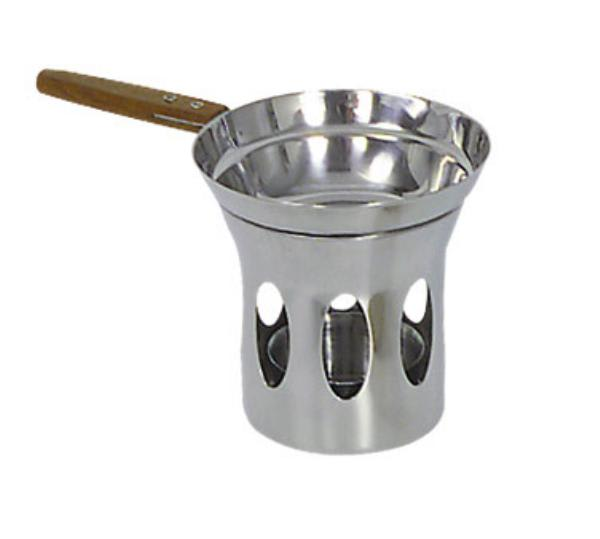 Browne 575725 Butter Warmer, with Stand, Stainless Steel