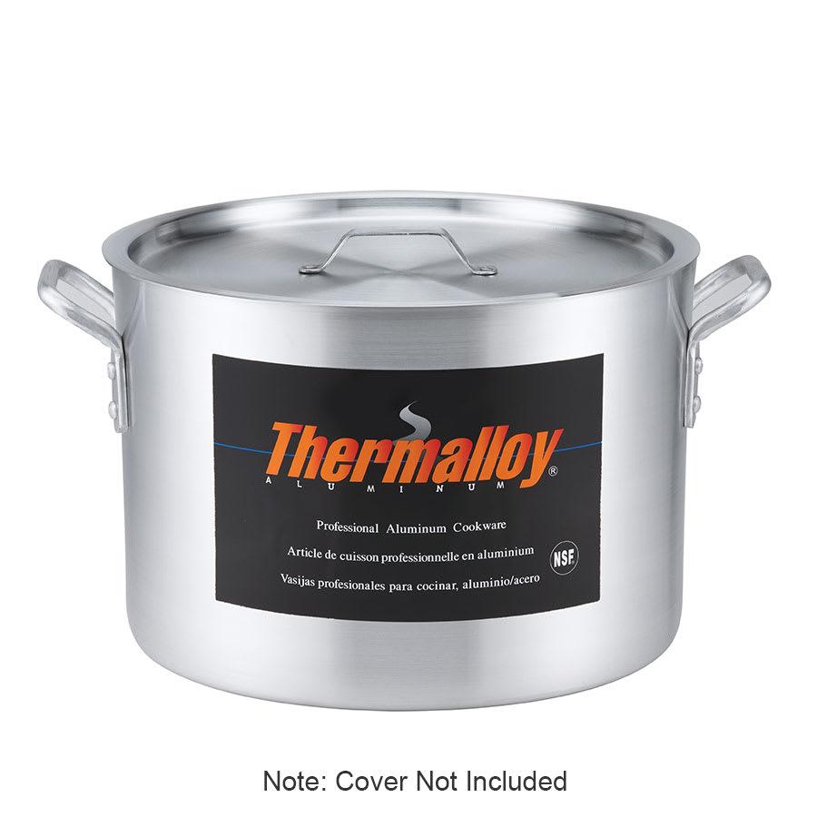 """Browne 5814326 26 qt Aluminum Sauce Pot - 14"""" x 10"""""""