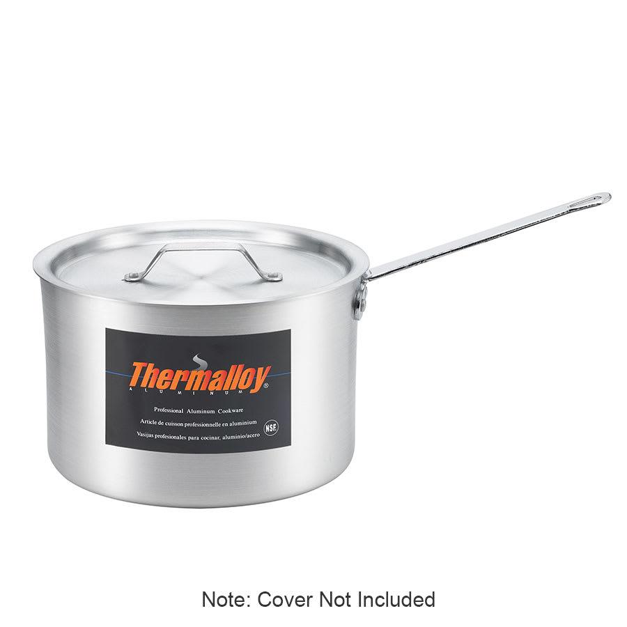 Browne 5814503 3.75 qt Aluminum Saucepan w/ Solid Metal Handle