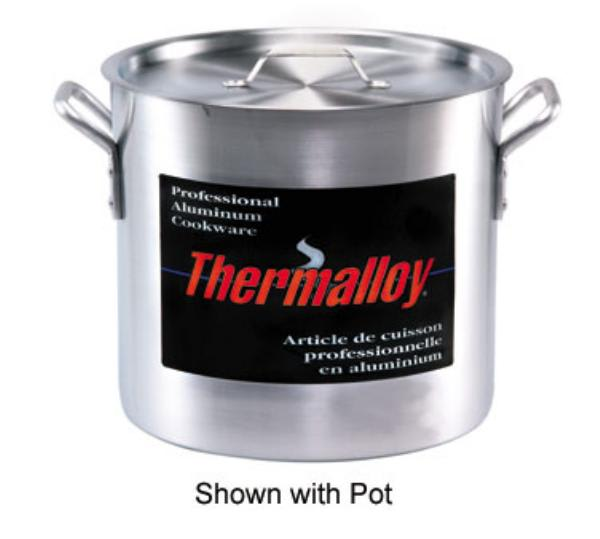 Browne 5815140 Thermalloy Aluminum Cover for 140 qt Stock Pot, NSF