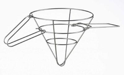 Browne 678 Grease Filter Cone Rack, 18 x 9 in, Wire Rack
