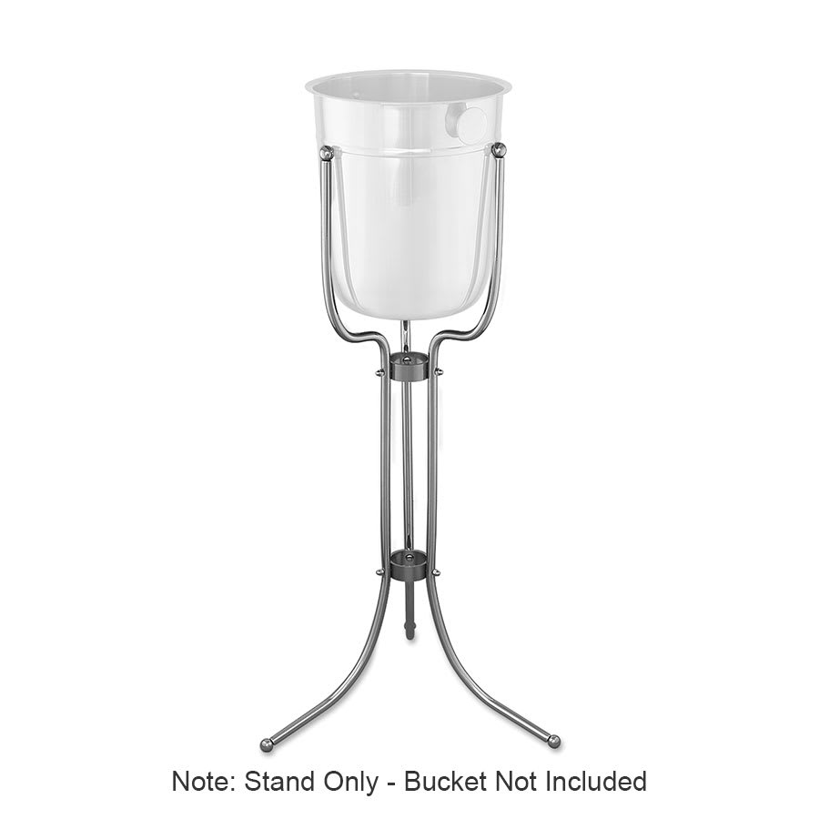 Browne 69502 Wine Bucket Stand Only, 30 in, Chrome Plated