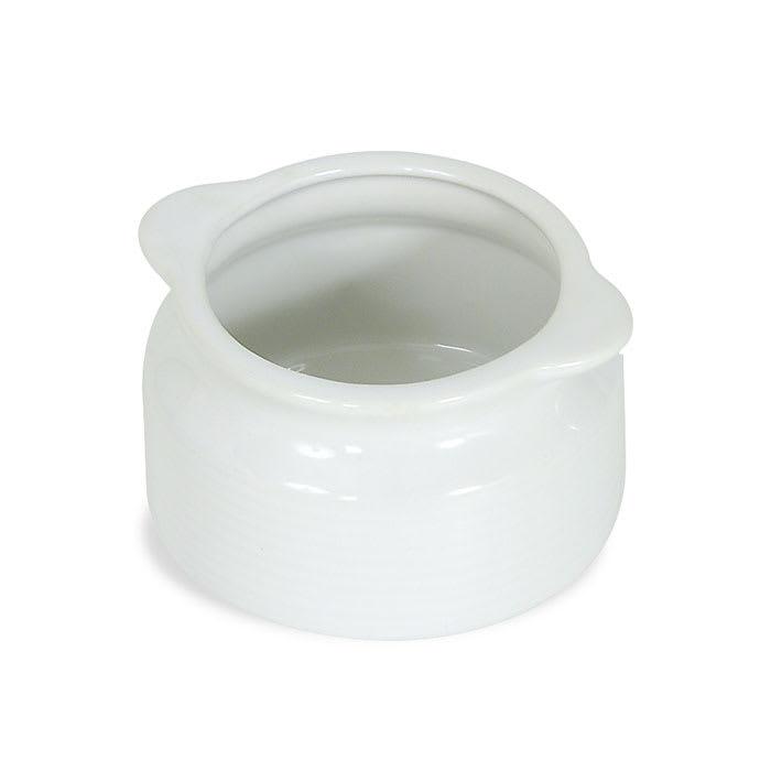 Browne 744049W 12 oz Ceramic Onion Soup Bowl, No Side Handle, White