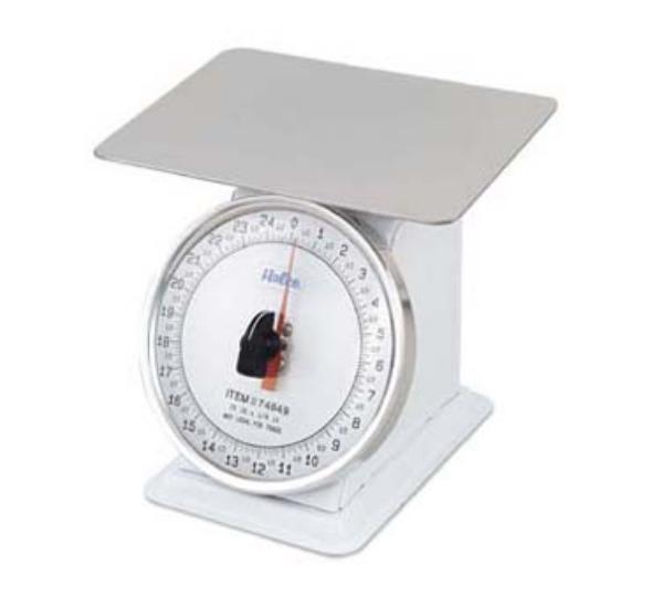 Browne 74849 Portion Scale, 25 lb x 2 oz Graduation, Shatterproof Lens