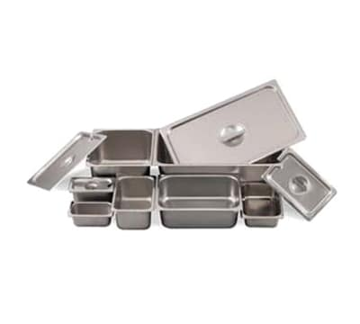 Browne 8006 Full-Sized Steam Pan - Perforated, Stainless
