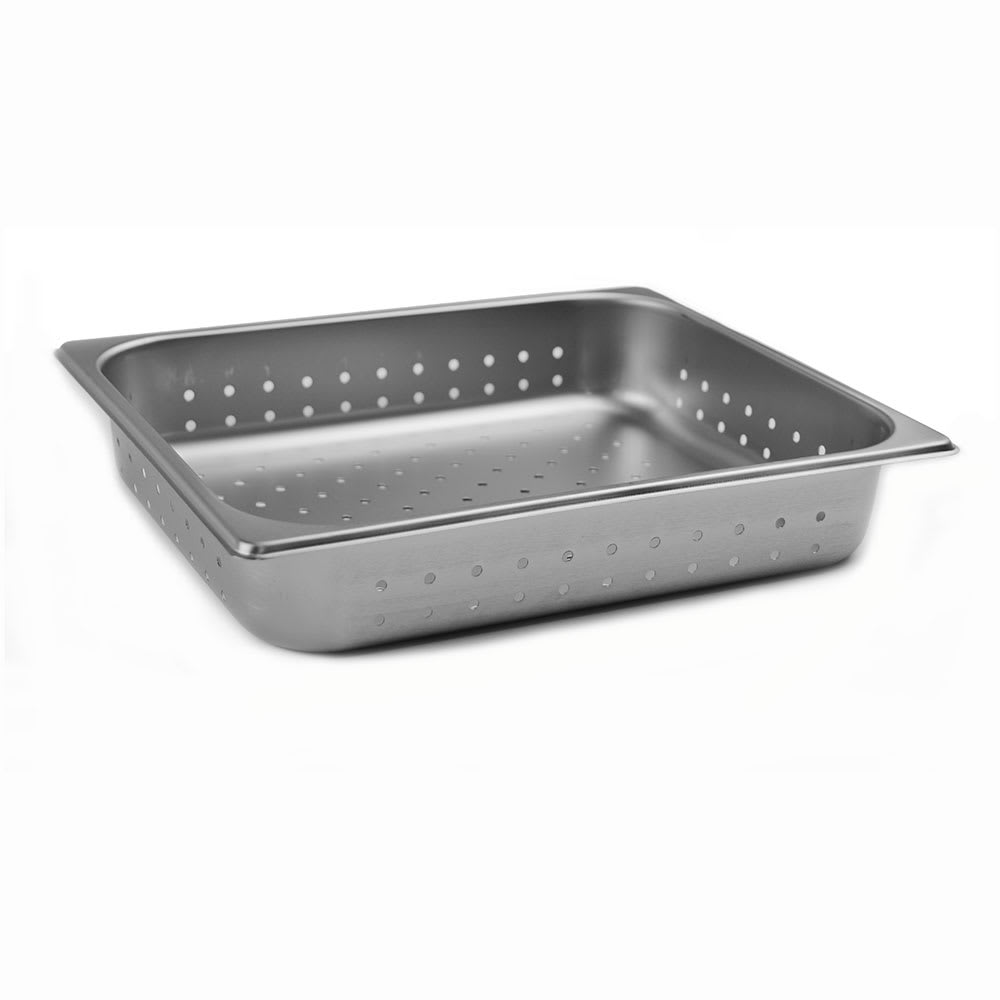 Browne 578122 Half-Sized Steam Pan - Perforated, Stainless