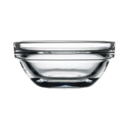 Browne 841456 1-oz Pasabahce Chef Bowl - Glass, Clear