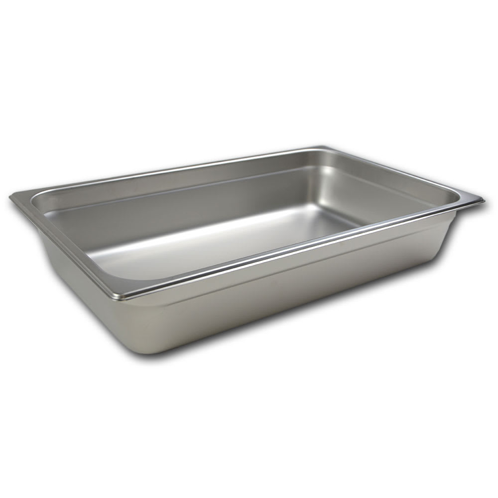 Browne 5781104 Full-Sized Steam Pan, Stainless