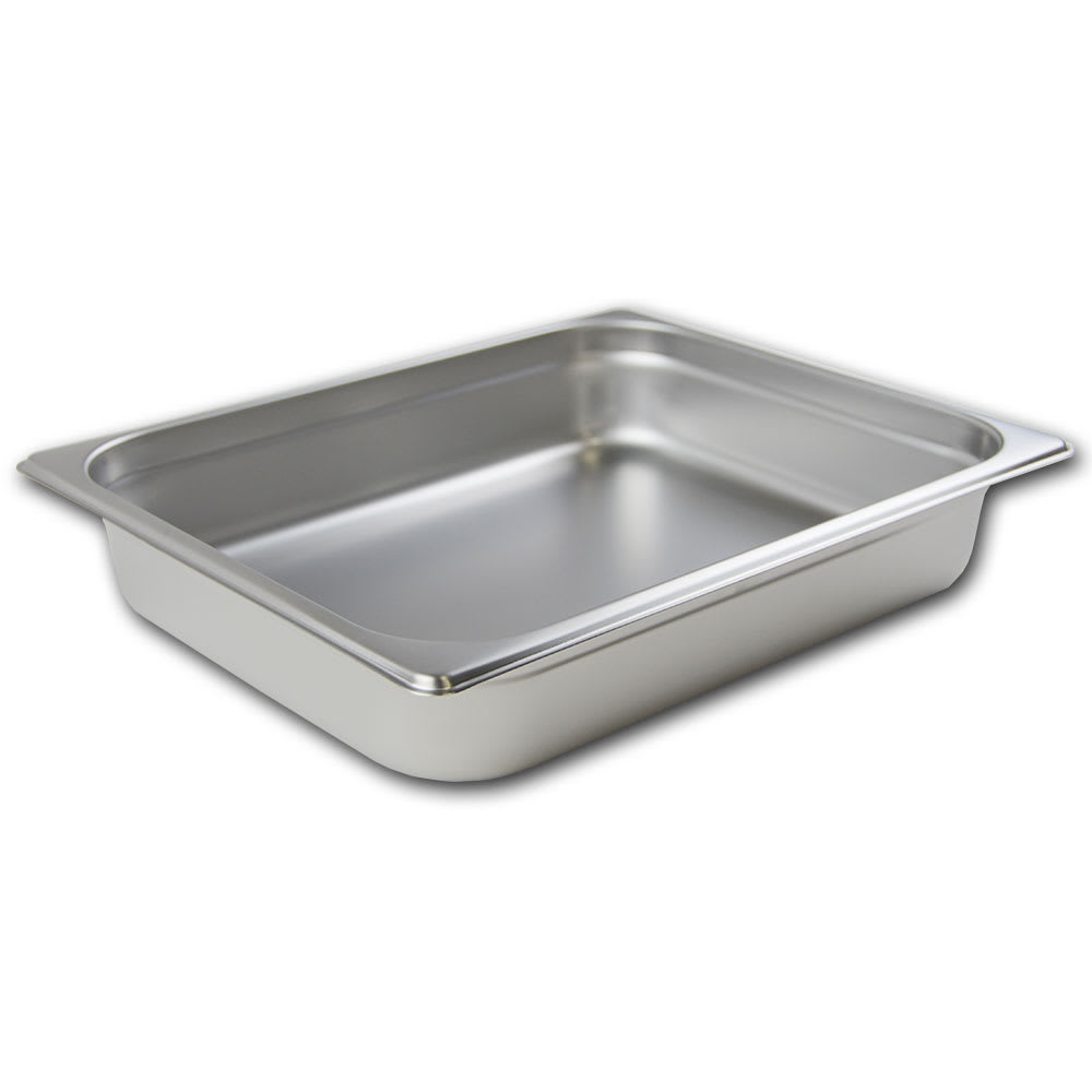 Browne 5781202 Half-Sized Steam Pan, Stainless