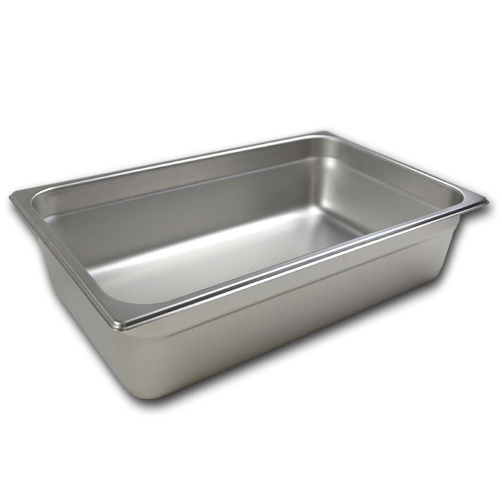 Browne 5781206 Half-Sized Steam Pan, Stainless