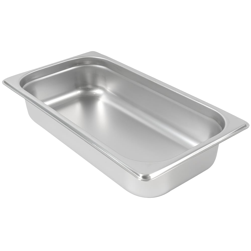 Browne 5781302 Third-Size Steam Pan, Stainless
