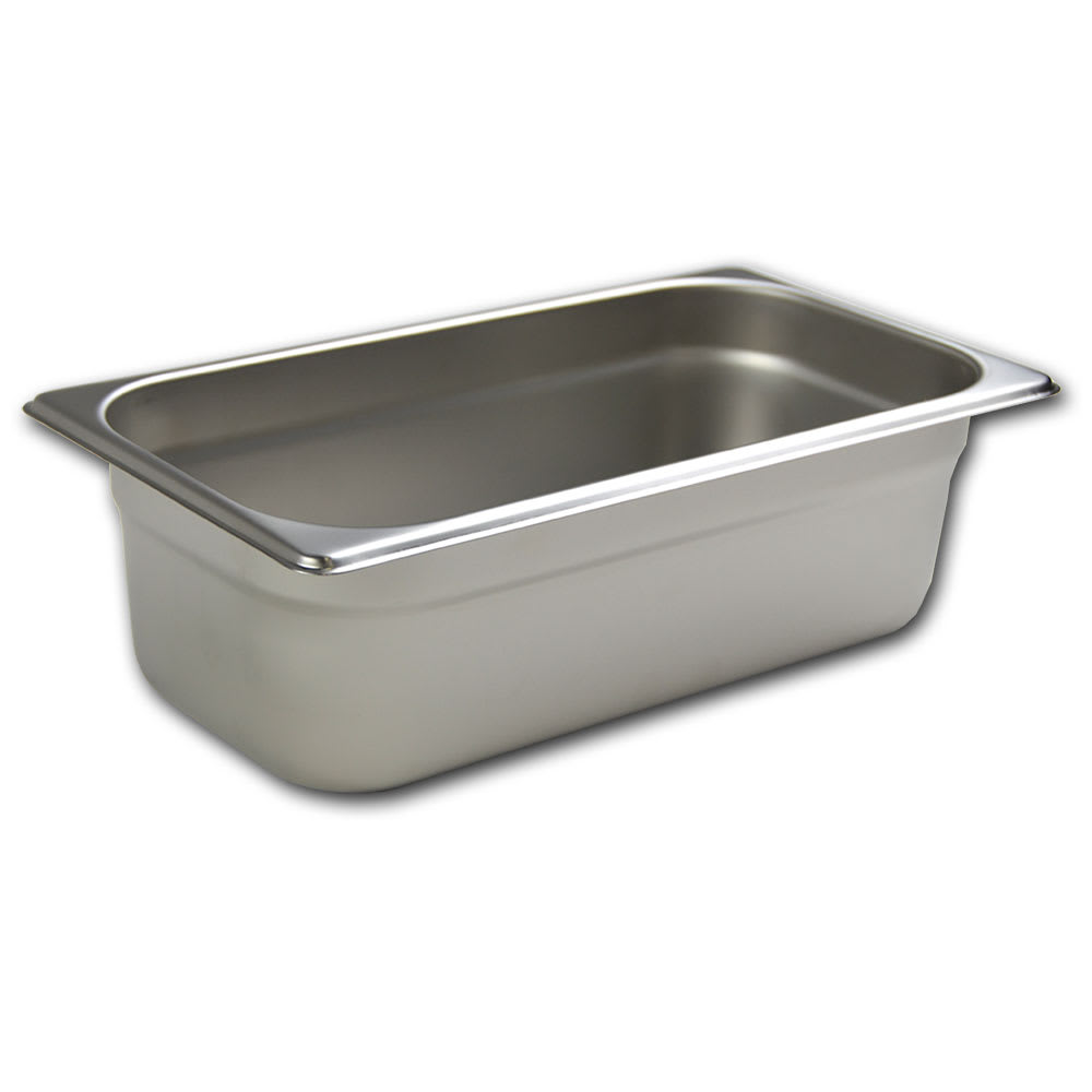 Browne 5781304 Third-Size Steam Pan, Stainless
