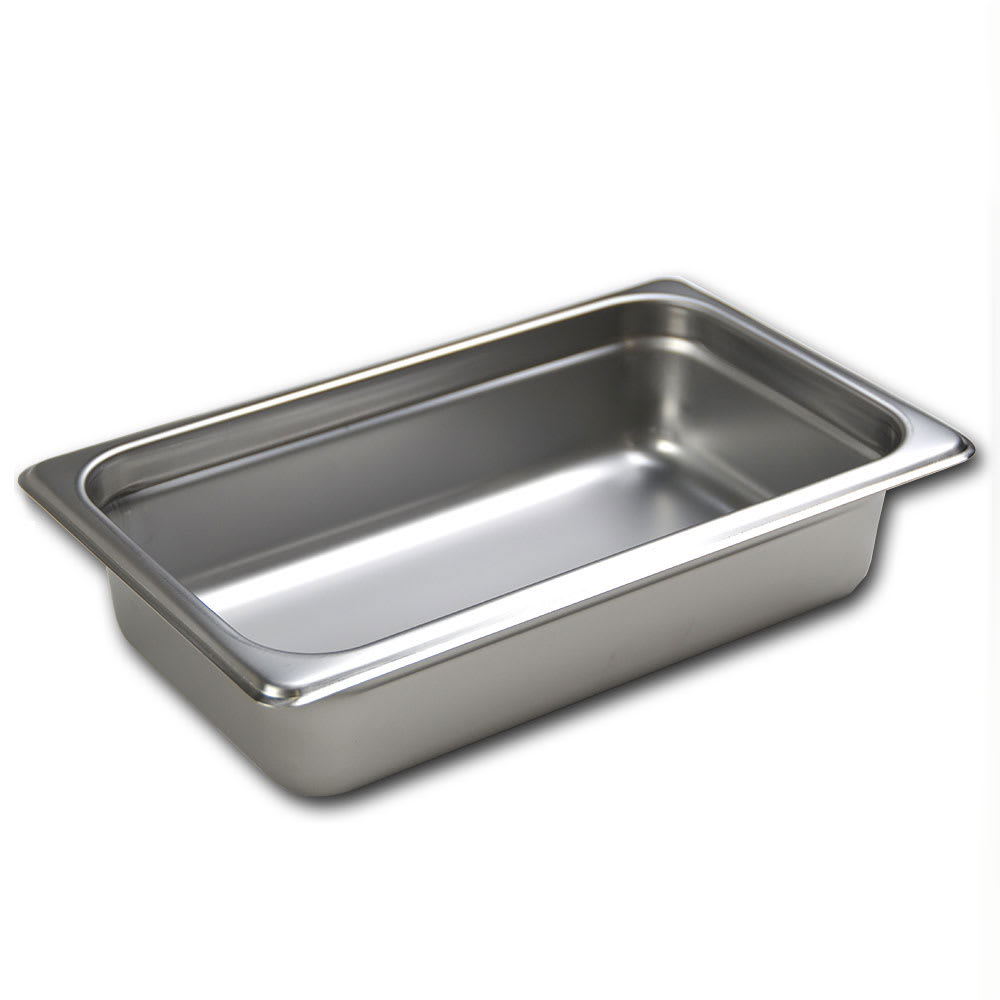 Browne 5781402 Fourth-Size Steam Pan, Stainless