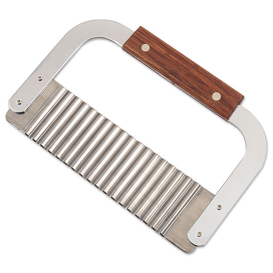 Browne 574309 Garnish/Serrator, 7 x 2 in, Stainless Steel Corrugated Blade