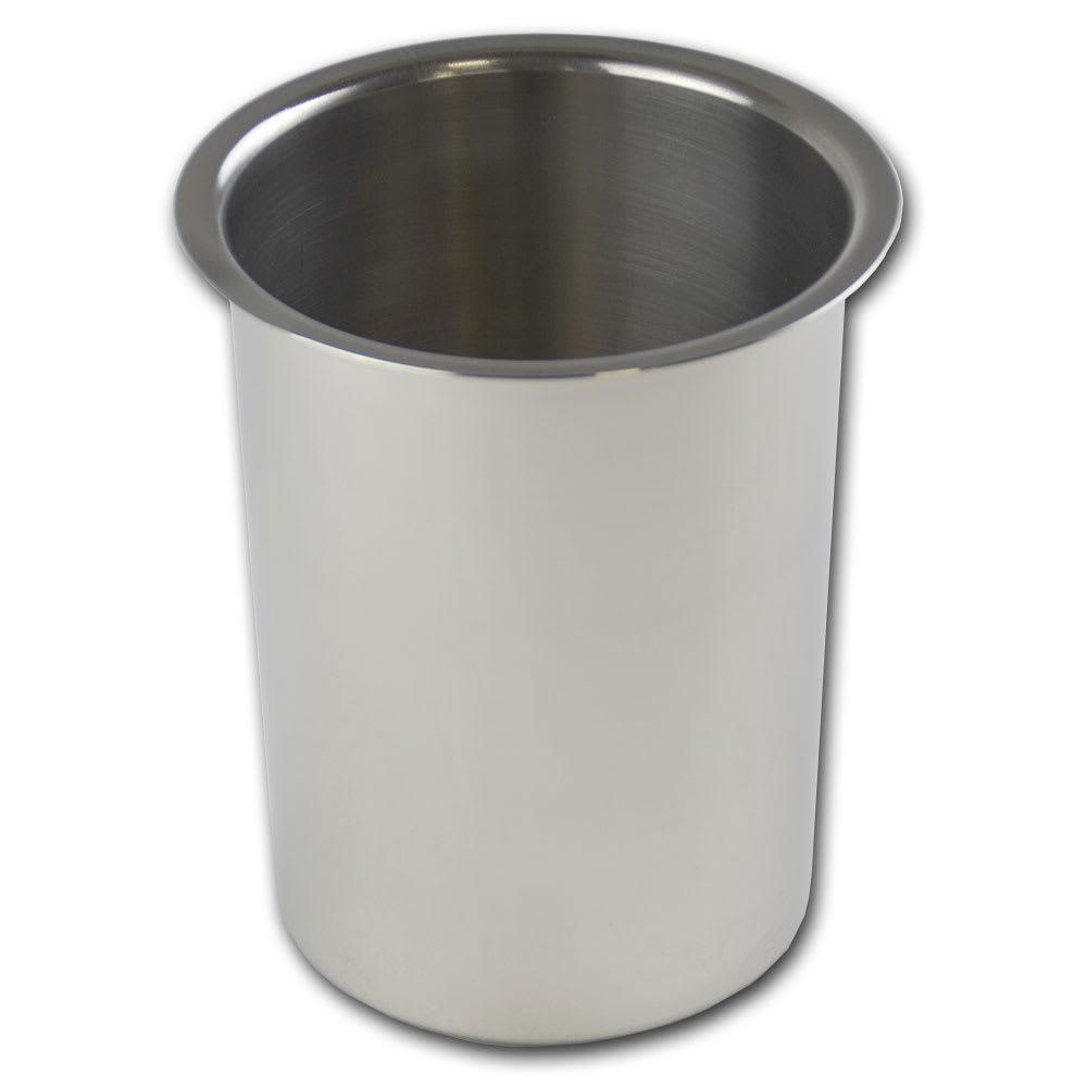 "Browne 575771 Bain Marie Pot, 1 1/4 qt Capacity, Fits 4 1/8"" Opening"